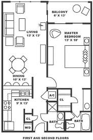 1 bedroom floor plan edgewater resort and towers condos for sale panama city