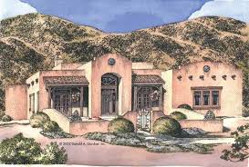 southwest style home plans eplans adobe house plan arched loggia entryway 1895 square