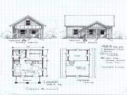 cottage open floor plan house plan small cabin floor plans loft cottage building plans