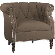 Beige Club Chair Brown Accent Chairs You U0027ll Love Wayfair
