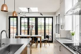 Home Design Before And After Before And After A Newton Kitchen Gets A Sleek Upgrade