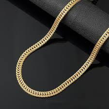 new trendy necklace images 2018 6mm long gold chain for men chain necklace new trendy 18k jpg