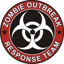 zombie jeep decals amazon com zombie outbreak response team cool vinyl decal bumper