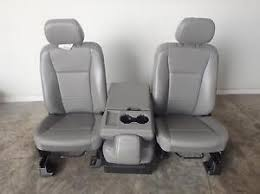 ford f250 seats ford f250 front seats w console oem takeouts vinyl manual