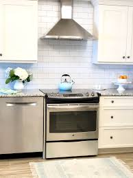 Wallpaper For Backsplash In Kitchen Diy Subway Tile Wallpaper Backsplash Styled With Lace