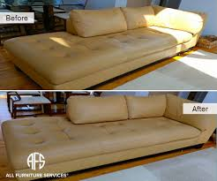 Leather Sofa Dyeing Service Gallery Before After Pictures All Furniture Services Part 7