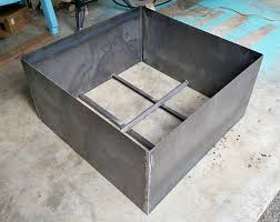 modern diy welded fire pit our fire pit makeover dans le lakehouse modern square diy welded fire pit our fire pit makeover dans le lakehouse