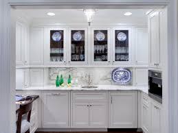 Bright White Kitchen Cabinets Kitchen Bright White Frosted Glass Kitchen Cabinet Door Design