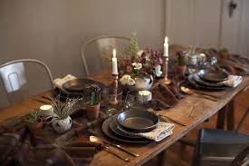 inspiration setting the thanksgiving table eyeswoon