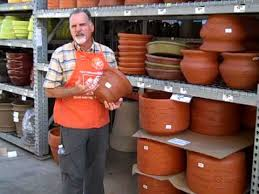 Concrete Planters Home Depot by Pots For Container Gardening The Home Depot Youtube
