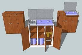 Google Sketchup Kitchen Design Blakey U0027s Van Kitchen Pod Design Continues