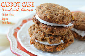 delicious as it looks carrot cake sandwich cookies gluten free