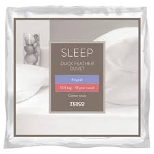 Tesco Bedding Duvet Buy Tesco Duck Feather 10 5 Tog King Size Duvet From Our Double