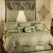 Pale Blue Comforter Set Pale Green Cream Comforter Bedding Set On The Golden Steel Daybed