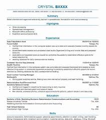 Expected Salary In Resume Sample by Best Data Entry Resume Example Livecareer