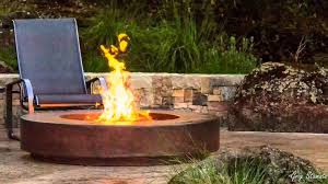cool metal fire pit designs youtube