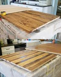 Bamboo Bar Top Enchantment Light 36 Gauge Copper With Lacquer Epoxy Coating