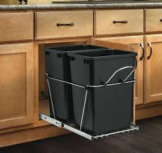 trash can cabinet lowes trash cabinet lowes pull out kitchen double can diy symbianology info