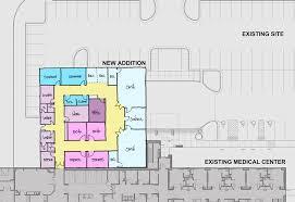 emergency room floor plan hjm architects inc lee u0027s summit medical center cardiac