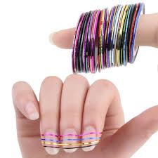 tape nail designs promotion shop for promotional tape nail designs