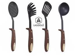 un ustensile de cuisine set 4 ustensiles cuisine laguiole generation marron cuisine