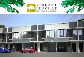 verdant teoville townhouse for sale in bf homes paranaque the