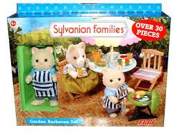 Sylvanian Families Garden - sylvanian family kitty cat figure garden barbecue set ebay