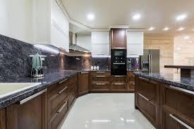 kitchen granite backsplash stylish kitchen designed with granite backsplash and counterops