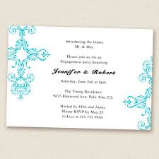 blue damask simple and engagement