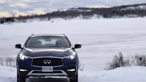 2017 infiniti qx30 awd winter test drive youtube