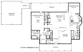 Jack And Jill Bathroom House Plans 3 Bedrooms 2 5 Baths Master Downstairs 2 Bedrooms Upstairs