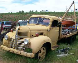 dodge one ton trucks for sale trucks for sale 1940 dodge model wf21 one ton flatbed boom