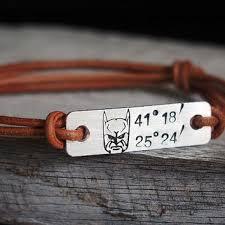 Customized Engraved Bracelets Shop Latitude And Longitude Bracelet On Wanelo