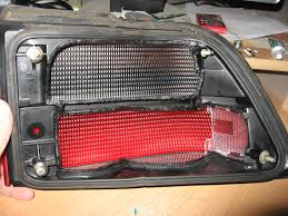 custom car tail lights saab 9000 custom led tail lights done boostcustoms custom car hommum