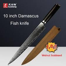 filleting knives japanese damascus steel kitchen knife