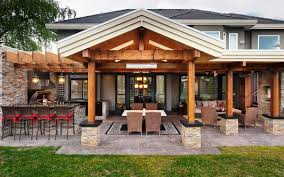 Summer Kitchen Designs Ideas Real House Design Designoutdoor With Pool Pergola Covered
