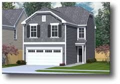 house plans for narrow lots with garage house plans by southern heritage home designs narrow lot house
