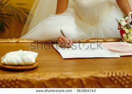 wedding registration free photos married signing marriage registration form