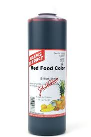 red food color adams extract gonzales tx
