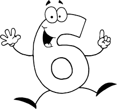 number 6 coloring pages for preschoolers coloring point