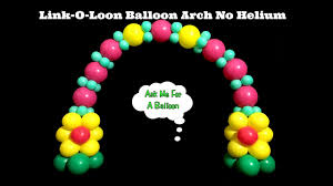 Table Top Balloon Centerpieces by Link O Loon Balloon Arch Tutorial Without Helium Balloon