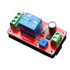 time delay relay module electrical switch onoff 5v 12v robot diy