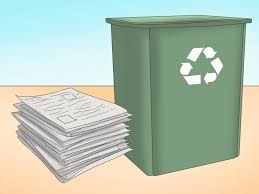 4 ways to reuse old newspapers wikihow