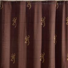 browning buckmark burgundy shower curtain free shipping
