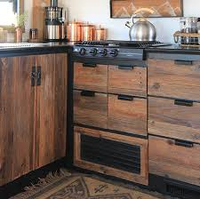 how to wood cabinets reclaimed wood kitchen cabinets mountainmodernlife