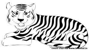 coloring pages of tigers free printable tiger coloring page