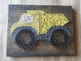 truck string art dump truck string art boy string art