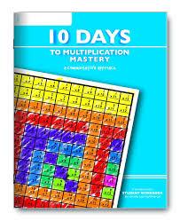 amazon com learning wrap ups 10 days to multiplication mastery