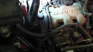 buick rendezvouz gm 3 4l engine roll to access spark plugs youtube