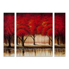 parade of trees 3 panel set free shipping today